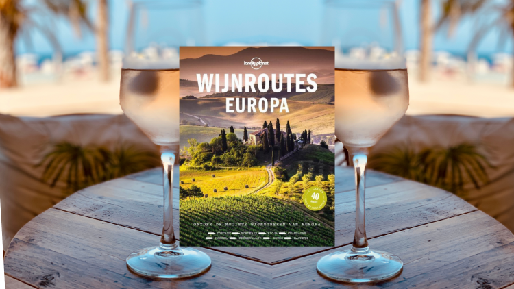 Lifestyle Books Lonely Planet Wijnroutes Europa HOLASPAIN.nl
